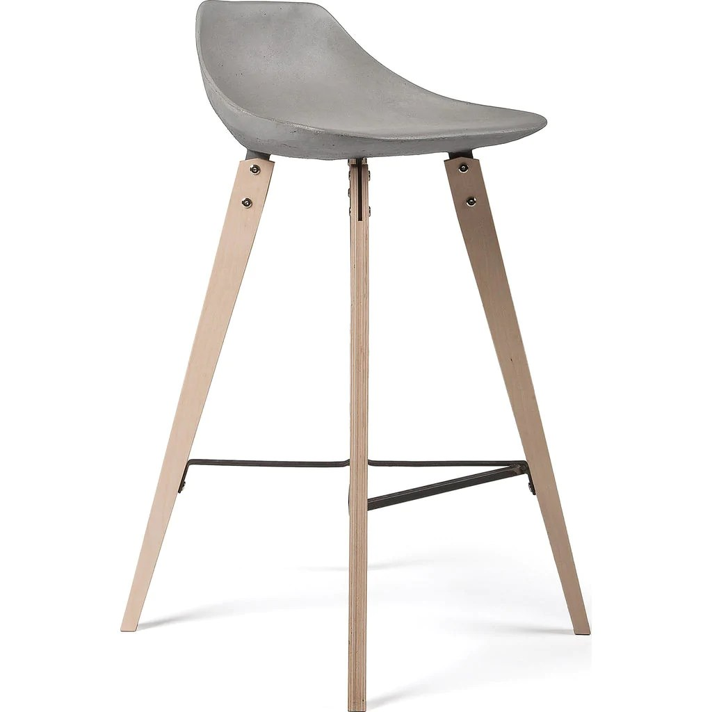 Counter Chair Lyon Beton Hauteville Counter Chair Plywood Feet