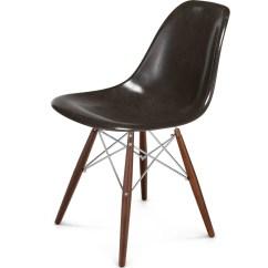 White Shell Chair Rio Backpack Modernica Case Study Walnut Dowel Side Chrome