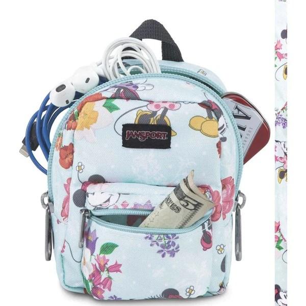 Jansport Disney Lil Break Mini Backpack Accessory Holder