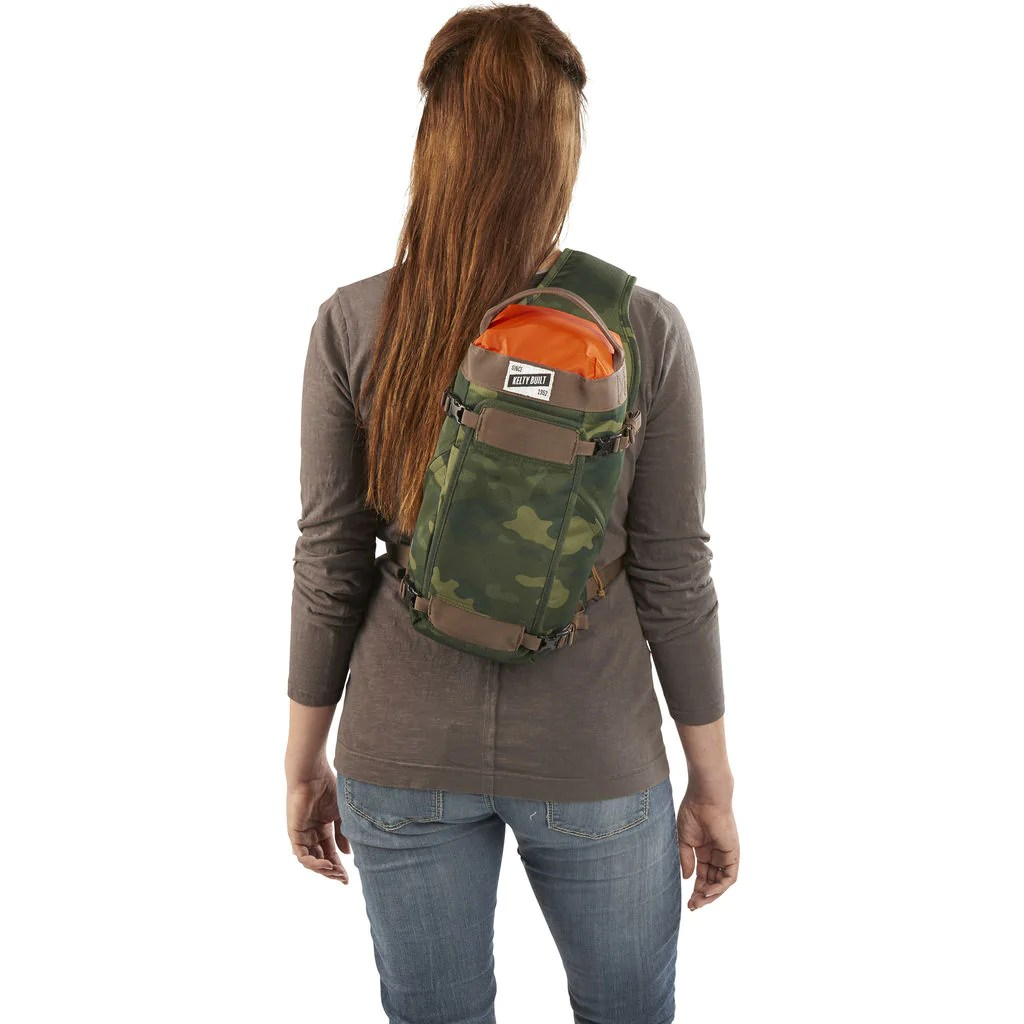 Kelty Spur 9l Sling Pack Green Camo - Sportique