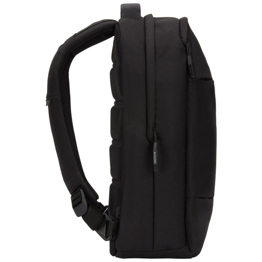 Incase City Compact Backpack w/ Diamond Ripstop   Black - Sportique