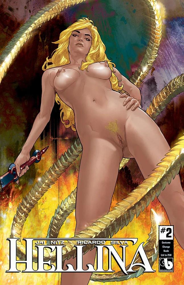 HELLINA 2 Costume Change Set of 6  Comic Cavalcade