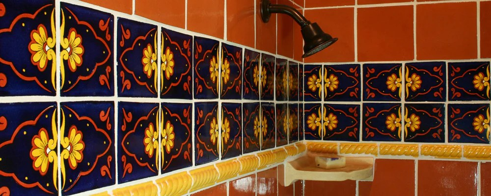 mexican tile for showers mexican tile