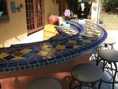 Outdoor Spaces  Mexican Tile Designs
