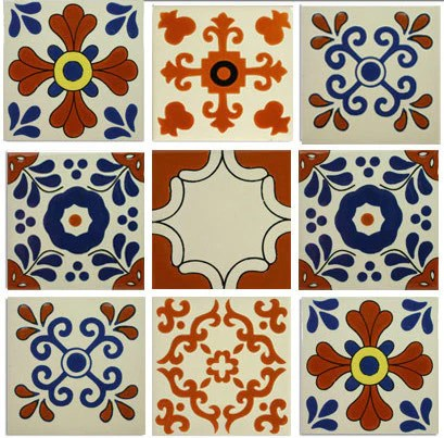 classic ceramic mexican tile