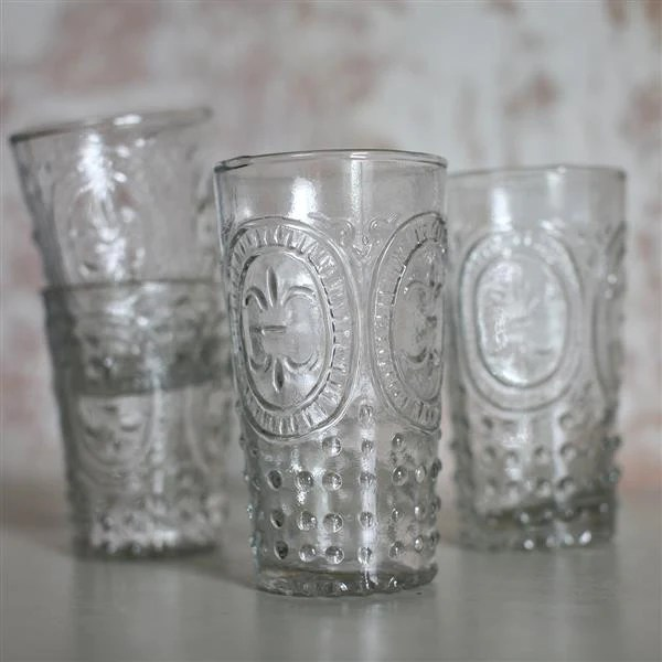 kitchen curtain sets best touchless faucet handmade drinking glasses (recycled glass) - large