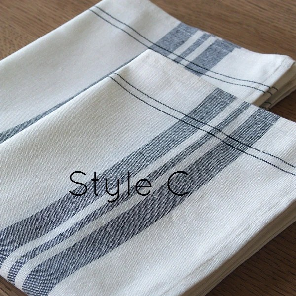 grey living room furniture set accent chairs for small white & graphite stripey linen cotton teatowels ...