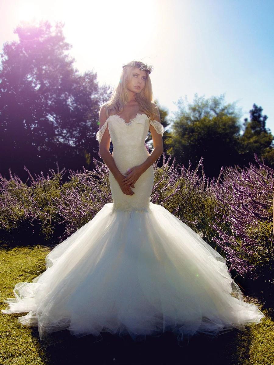Lauren Elaine Aurelia  Romantic Mermaid Wedding Dresses
