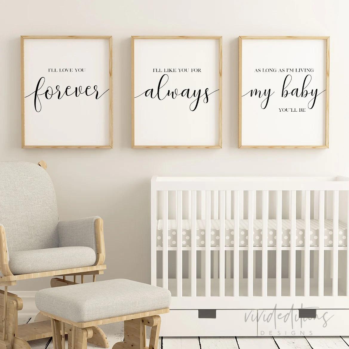 love you forever nursery