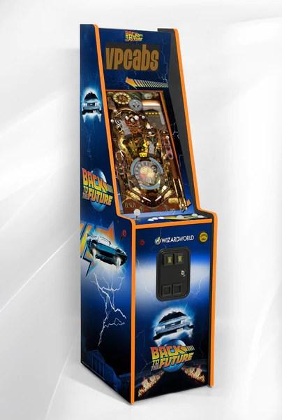 Back To The Future Vertigo 2 In 1 Pinball And Arcade
