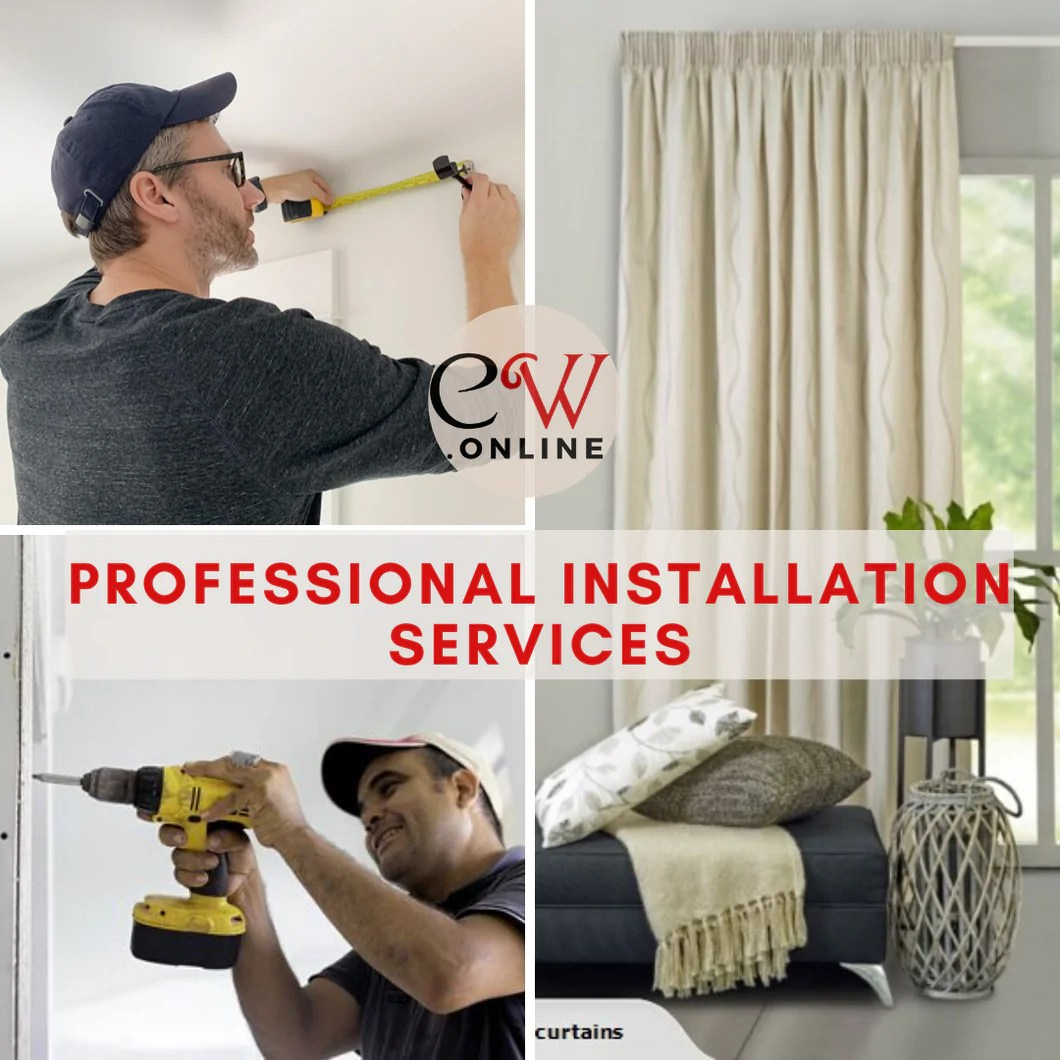 professional curtain blind custom made services