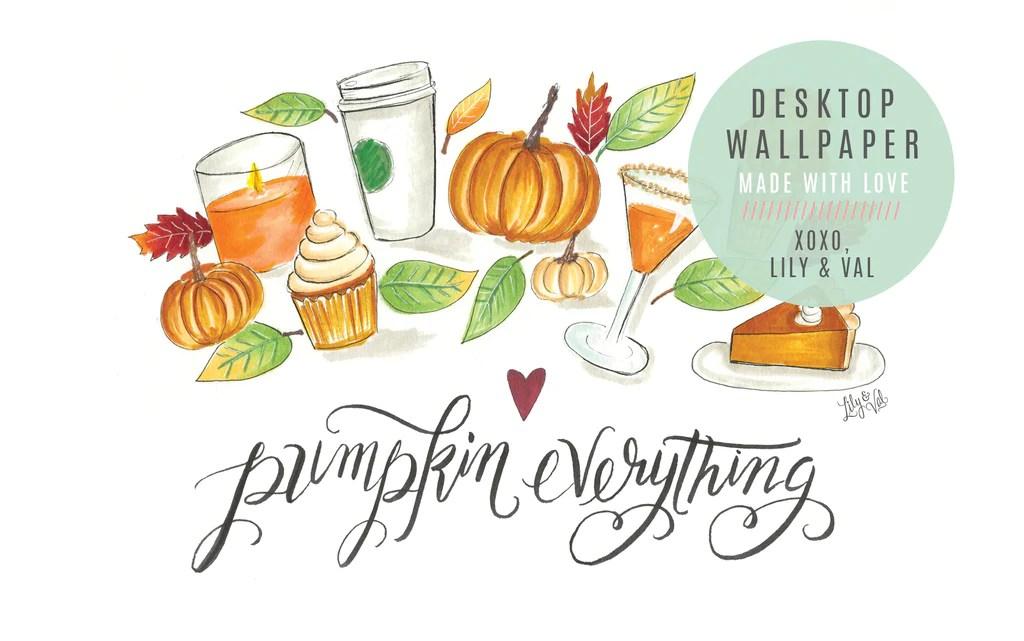 Pumpkin Everything Desktop Wallpaper
