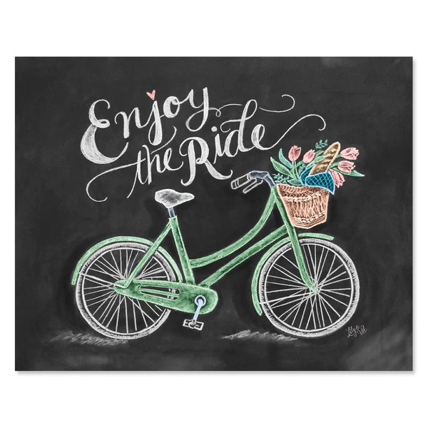 Fall Flowers Wallpaper Free Lily Amp Val Bicycle Art Bicycle Print Chalk Art