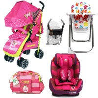 Pink Strollers With Car Seats