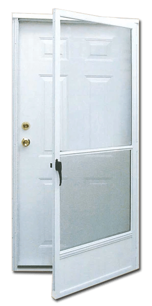6 Panel Steel Combination Door for MobileManufactured