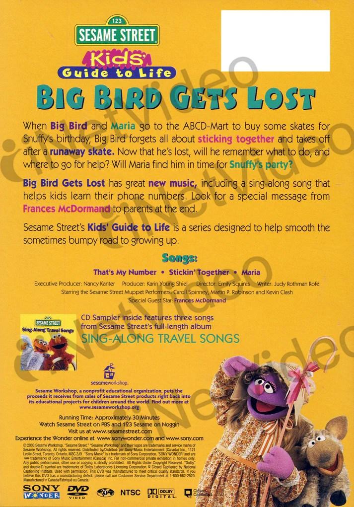 big bird gets lost