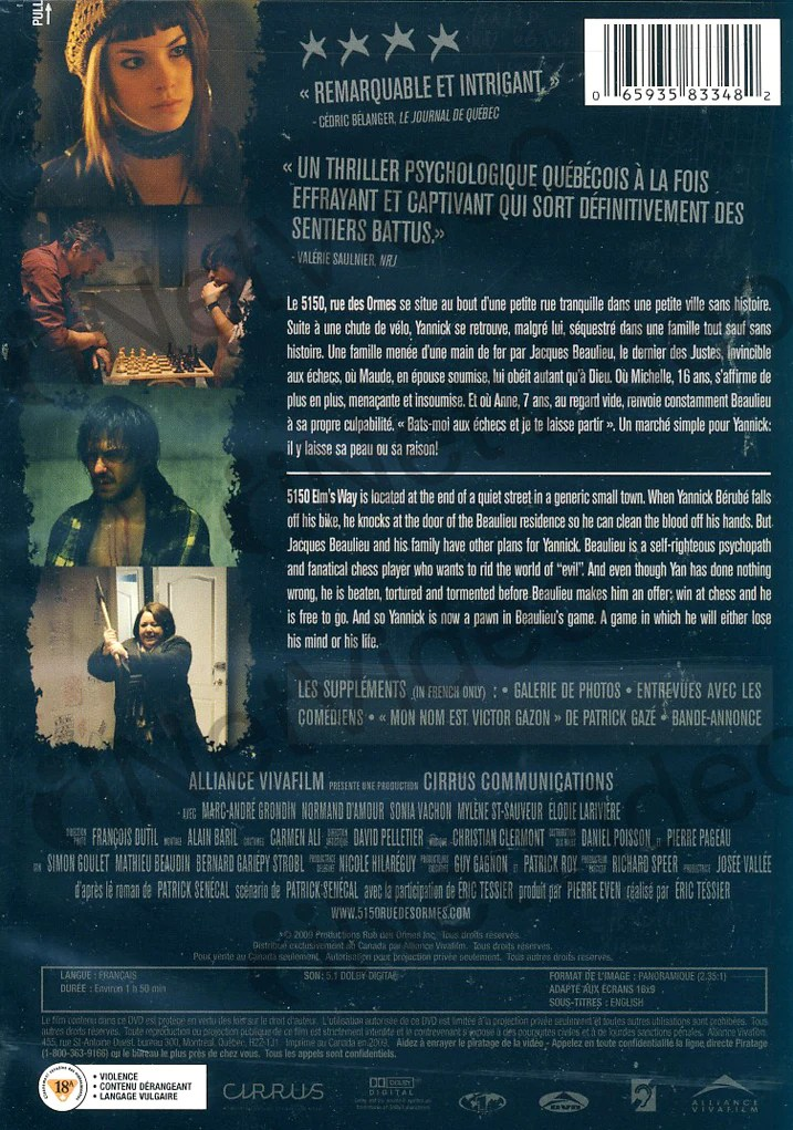 5150, Rue Des Ormes : 5150,, ormes, Ormes, (Bilingual), Movie