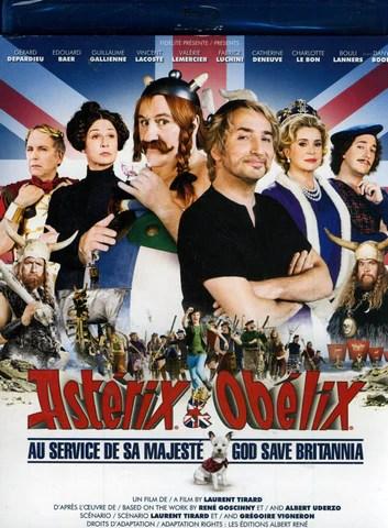 Astérix Et Obélix : Au Service De Sa Majesté : astérix, obélix, service, majesté, Asterix, Obelix, Brittania, Service, Majeste, (Blu-ray), BLU-RAY, Movie