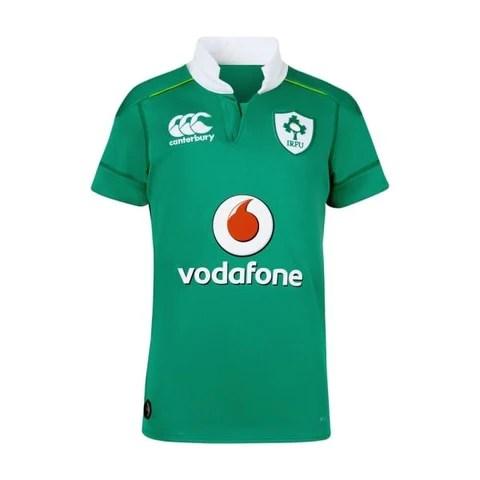 ireland vapodri home pro rugby jersey kids