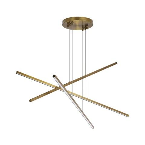 essence trio linear chandelier