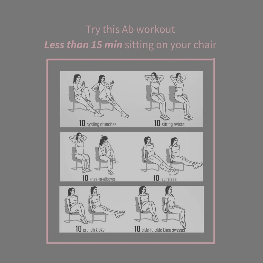 ab cruncher chair baby girl high chairs workout climawear