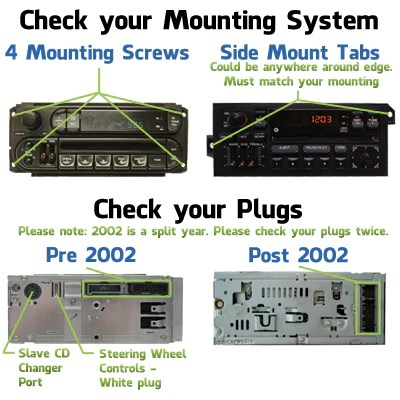 pt cruiser cd player wiring diagram john deere f525 pto raz cassette aux radio