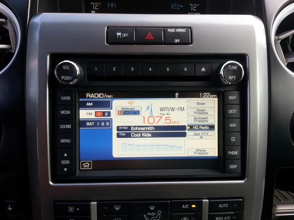 F350 Ac Wiring Diagram 2009 2014 Ford F 150 Sync 1 Gps Navigation Radio