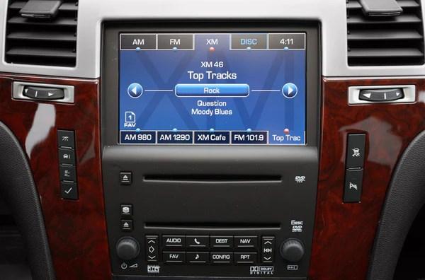 20072009 Escalade Navigation System Factory GPS Radio – Infotainment