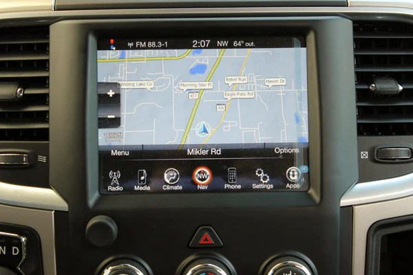 Ram Radio Wiring Diagram Infotainment Ram 1500 2500 3500 Gps Navigation 8 4an Ra4