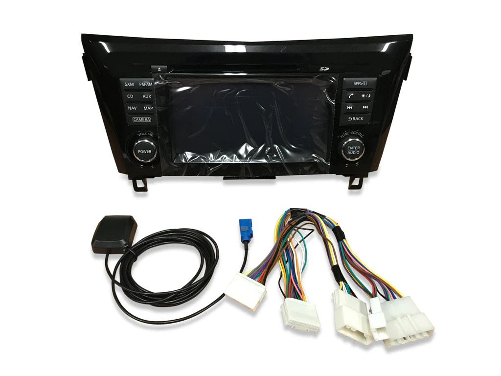 small resolution of 2014 2018 nissan rogue nissanconnect gps navigation radio