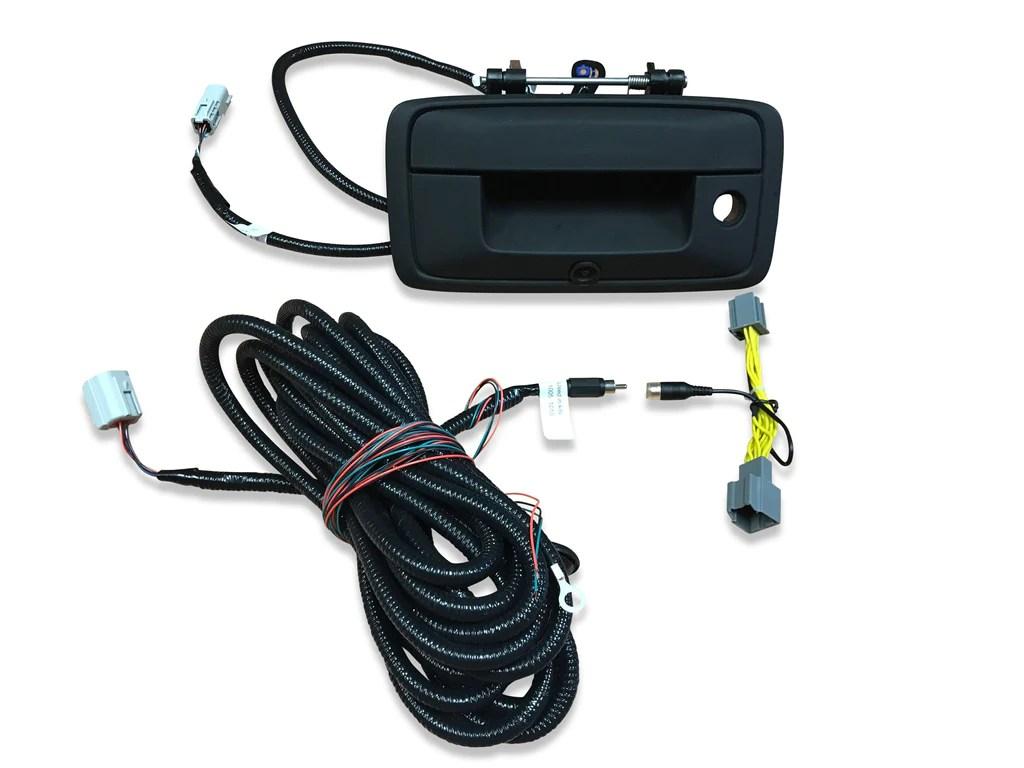 small resolution of 14 15 silverado sierra gm truck tailgate handle backup camera kit
