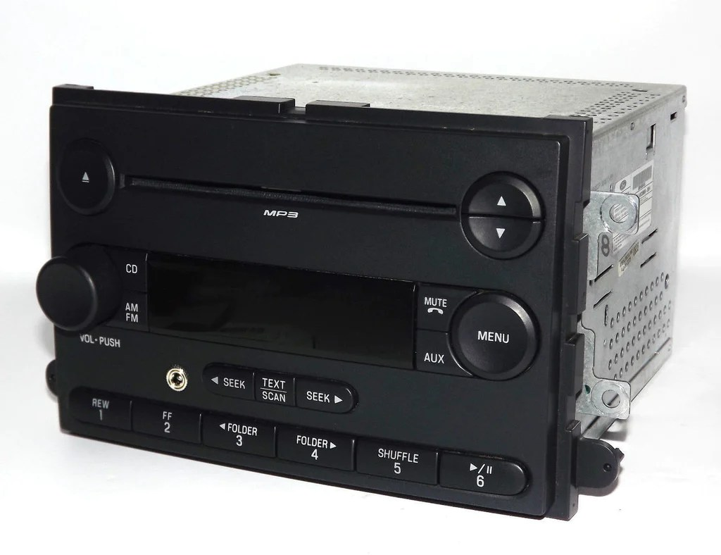 hight resolution of ford am fm mp3 cd player aux input radio