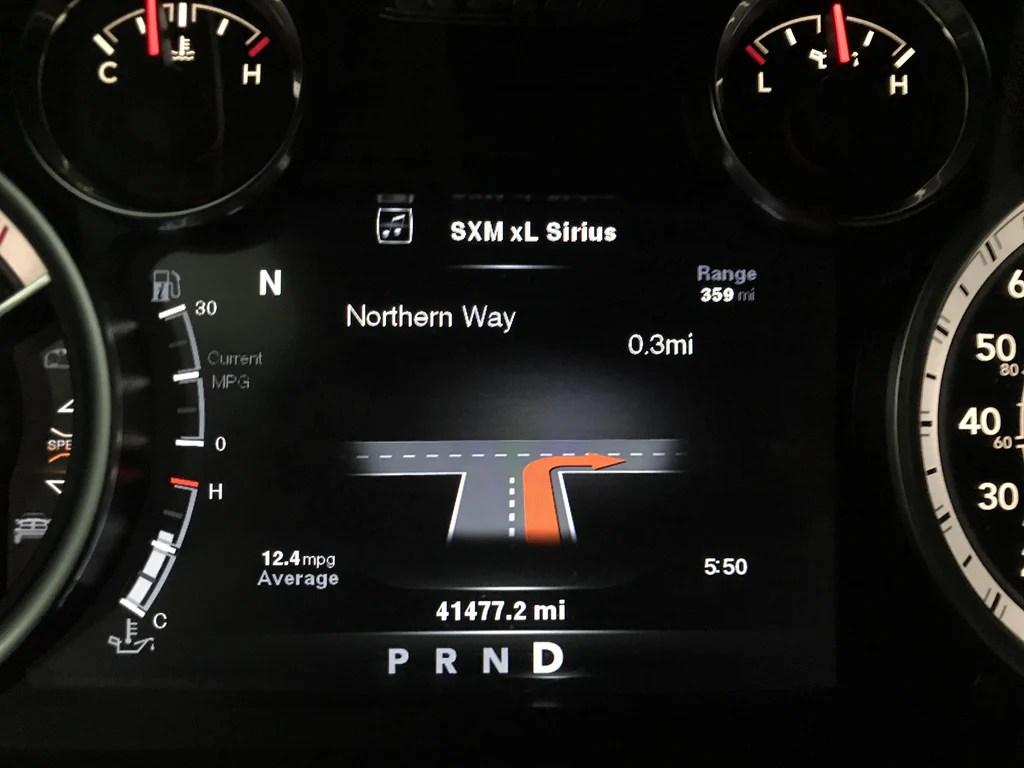 2013 2019 ram truck speedometer evic instrument panel cluster [ 1024 x 768 Pixel ]