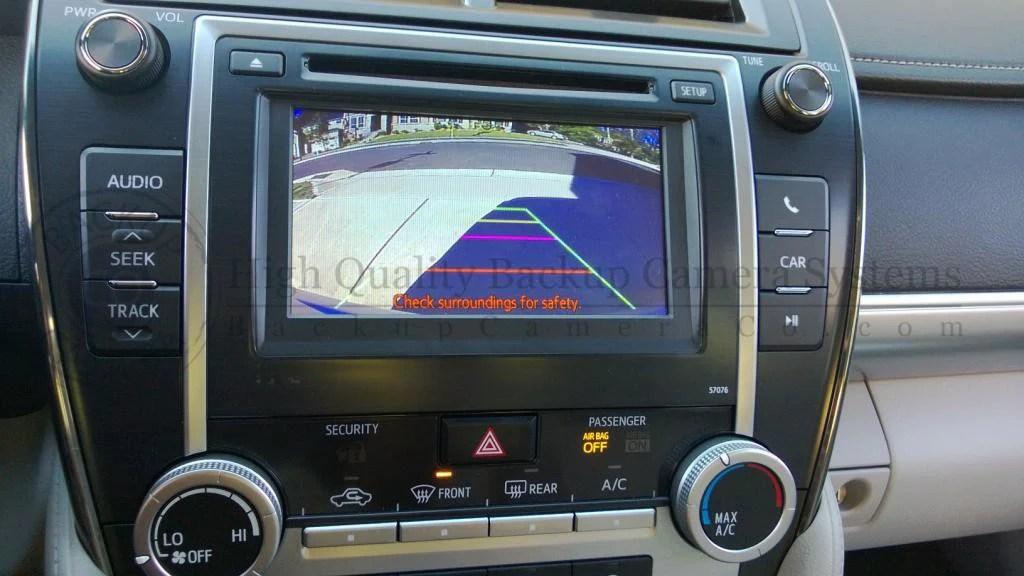 Ford Tahoe Diagram Toyota Display Audio Entune Backup Camera Kit Camry
