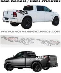 Nissan Frontier Graphics : nissan, frontier, graphics, Decals, Dodge, Trucks, Stickers