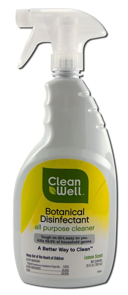 Clean Well Disinfectant Conscious Merchant