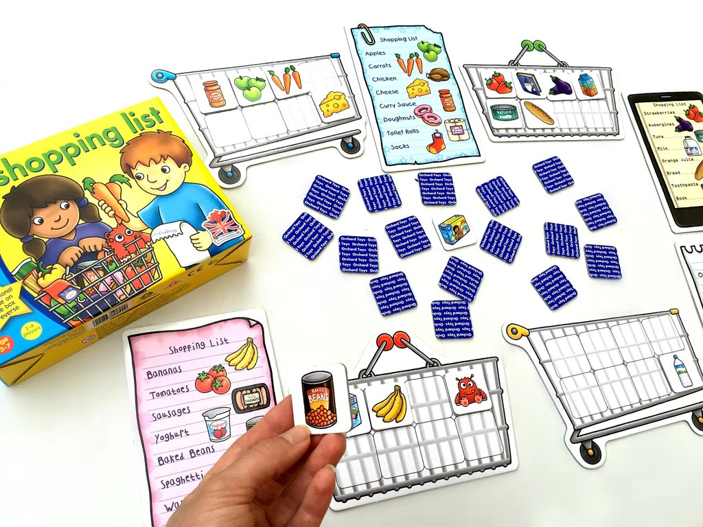 Orchard Toys Shopping List Game The Coffee Apple