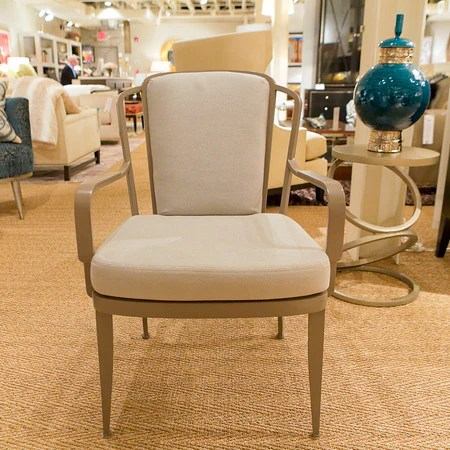 baker tufted dining chairs power lift chair rental furniture luxe home philadelphia bowmont arm