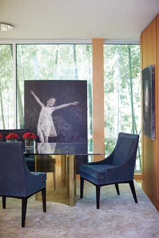 chair rental philadelphia serta office 10 year warranty abbot metal dining table - bernhardt furniture | luxe home