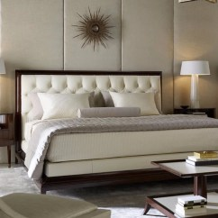 Baker Tufted Dining Chairs Bedroom Chair Modern Furniture Luxe Home Philadelphia Moderne Platform Bed