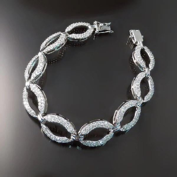 Imitation Diamond Jewelry CZ Bracelet  Zoran Designs Jewelry