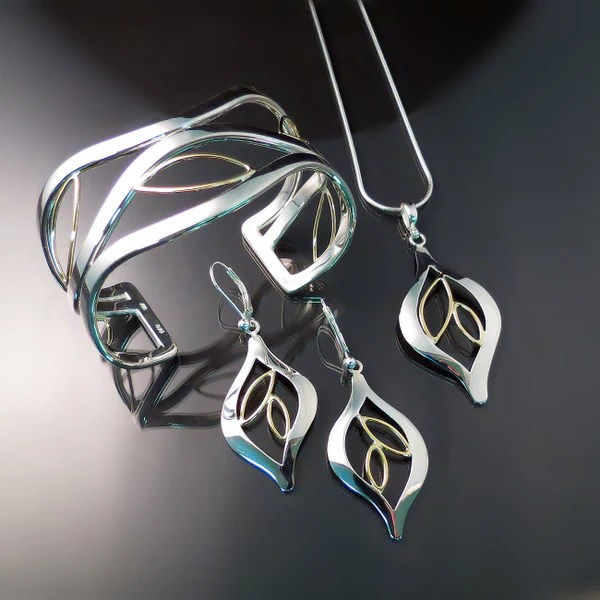 Leaf Earrings Unique Jewelry Zoran Designs Jewelry