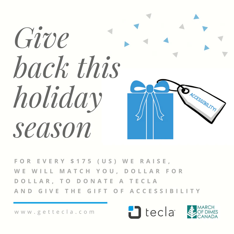 Give The Gift Of Accessibility This Holiday Season Tecla
