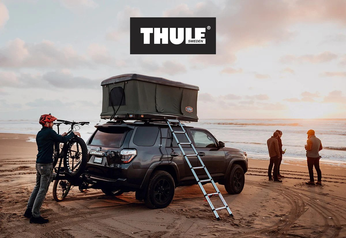 thule roof racks the base of your adventure [ 1200 x 824 Pixel ]