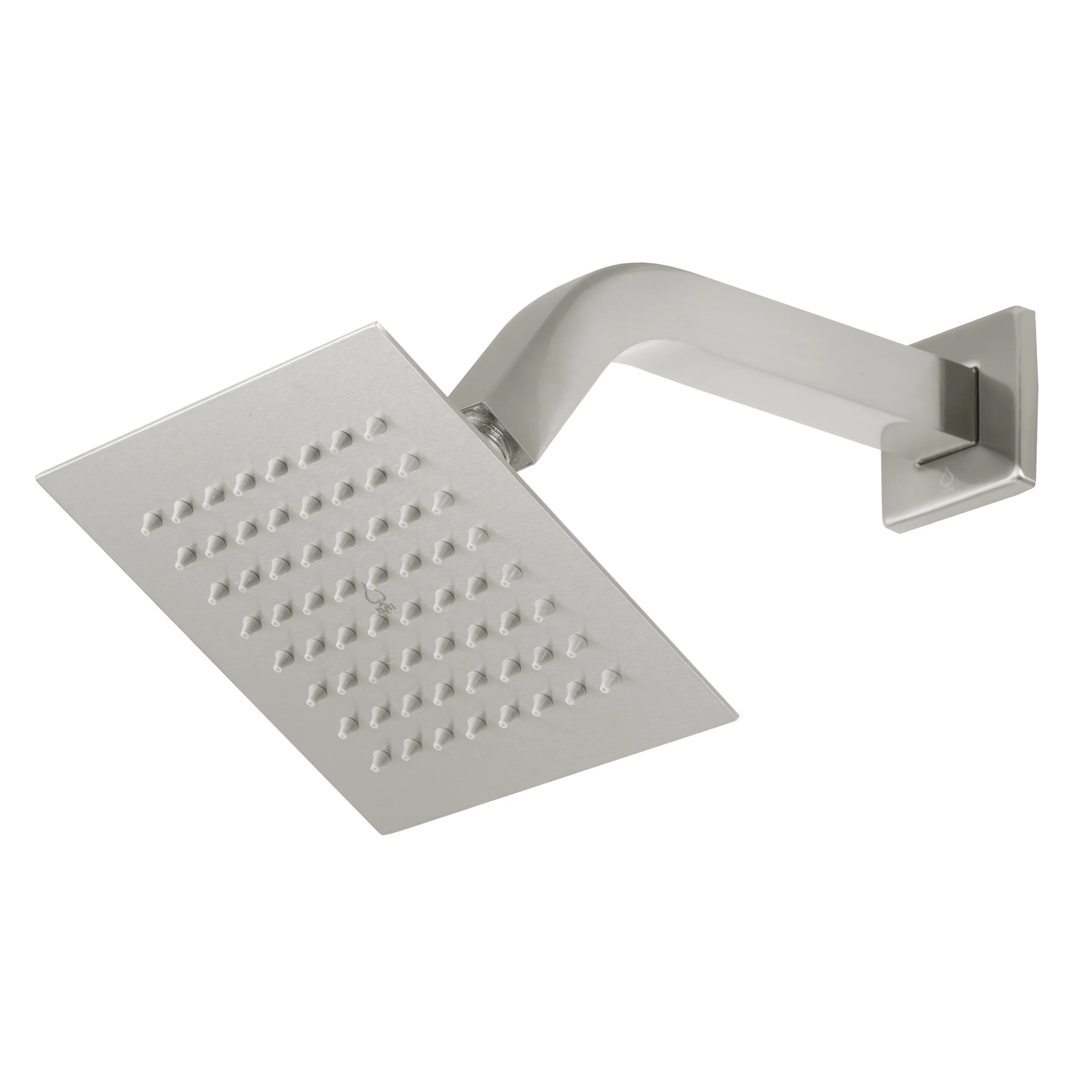 Bai 0443 Stainless Steel 6 Inch Square Rainfall Shower Head