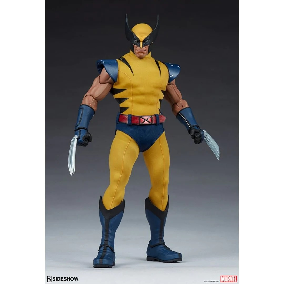 Wolverine 1 6th Action Figure By Sideshow Collectibles Now Superherotoystore Com