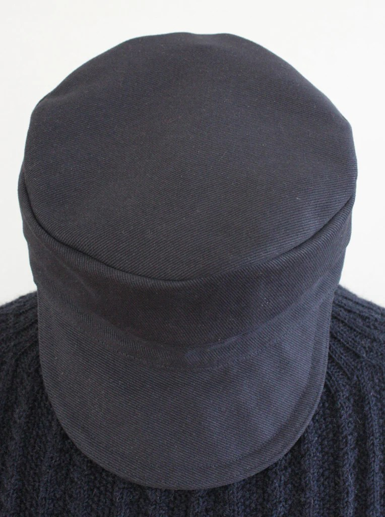 Sailors Cap  Hand Made in England  Navy Twill Hat