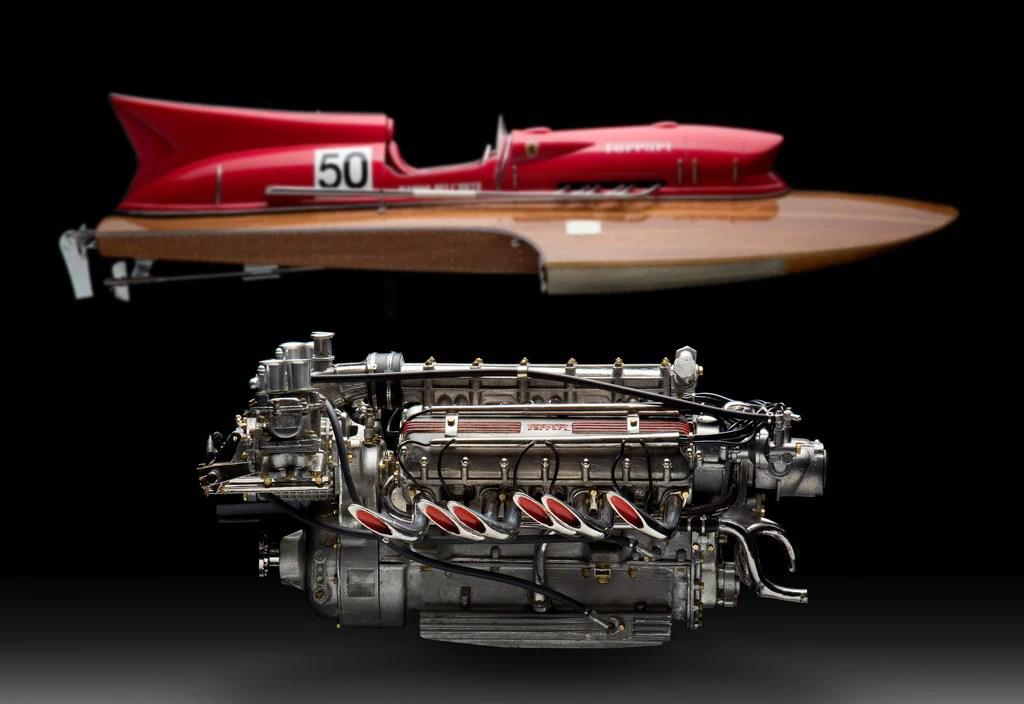 Ferrari Arno Xl Racing Hydroplane Engine 18 Scale  Aeromobilia