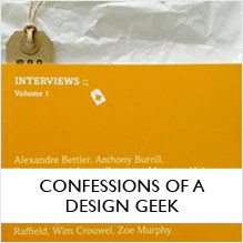 Confessions of a Design Geek