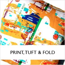 Print, Tuft & Fold
